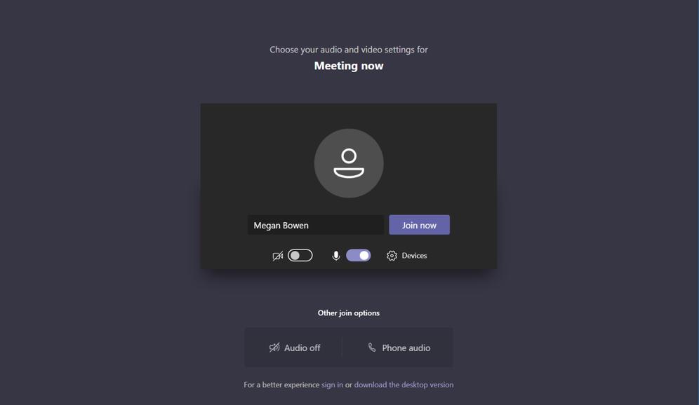 Neem deel aan een Microsoft Teams meeting